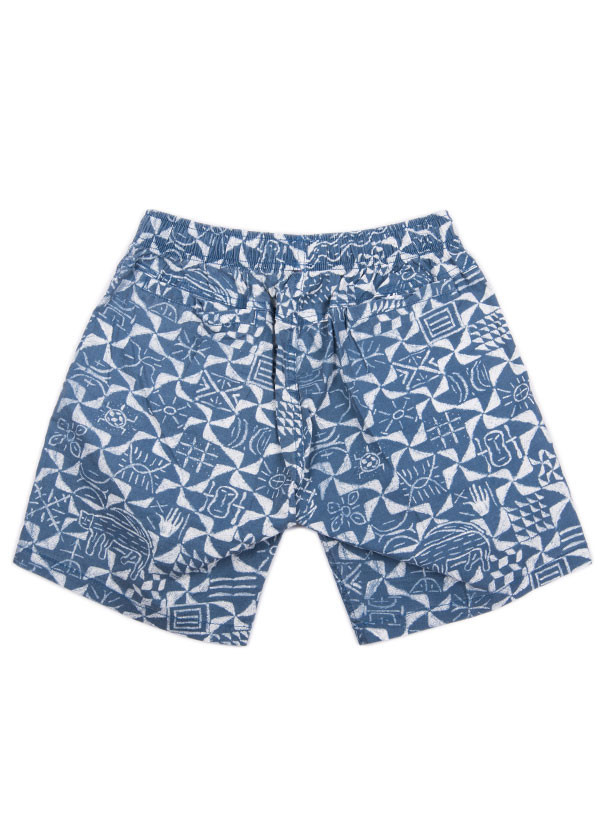 Men's Deus Ex Machina Bates Tribal Boardshorts