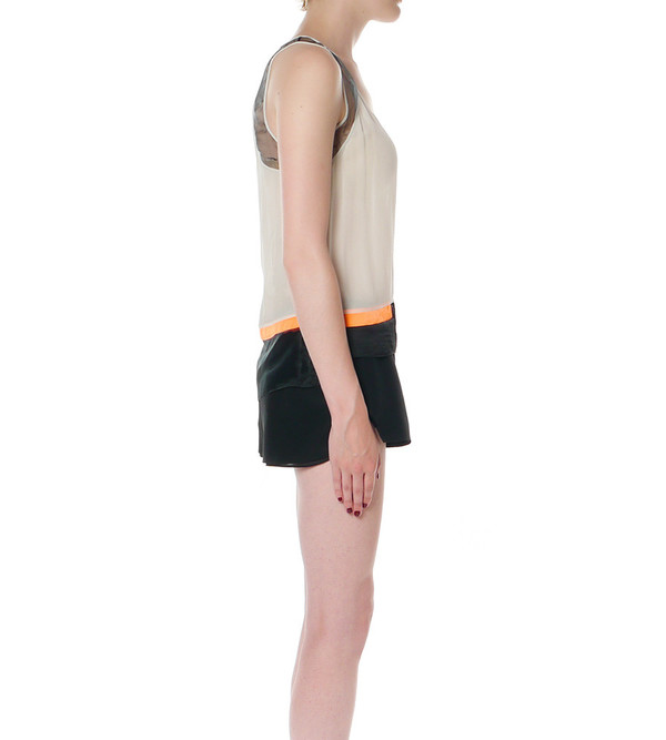 Helmut Lang Chroma Colorblocked Tank Top