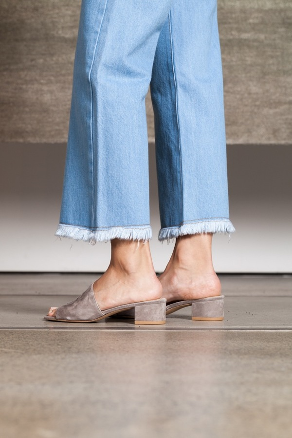 Objects Without Meaning Flare Jean | pale blue