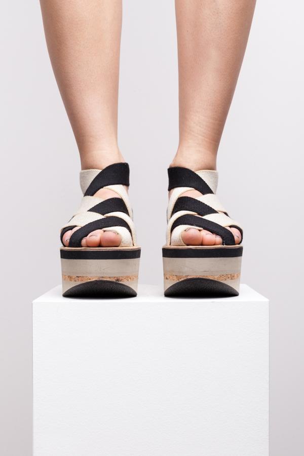 Arielle De Pinto Tape Sandal