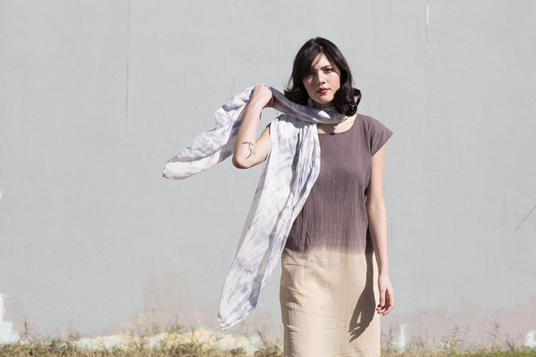 Miranda Bennett  Dapple Silk & Wool Wrap