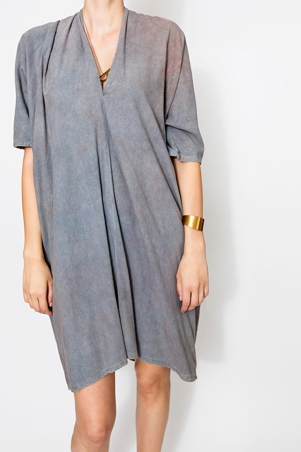 Miranda Bennett Muse Dress | Oversized Silk