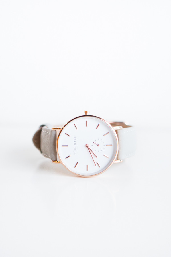 The Horse Classic Leather Watch