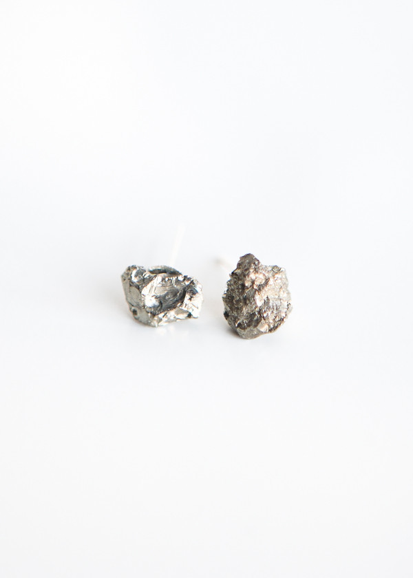 Giant Lion Cluster Pyrite Studs