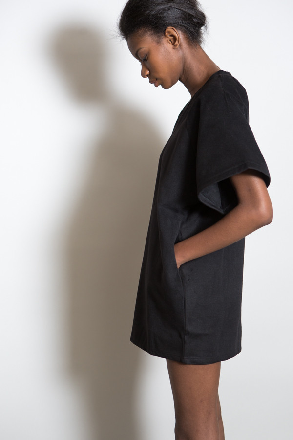 BLQ Basiq Over Size Boxy Wool Dress