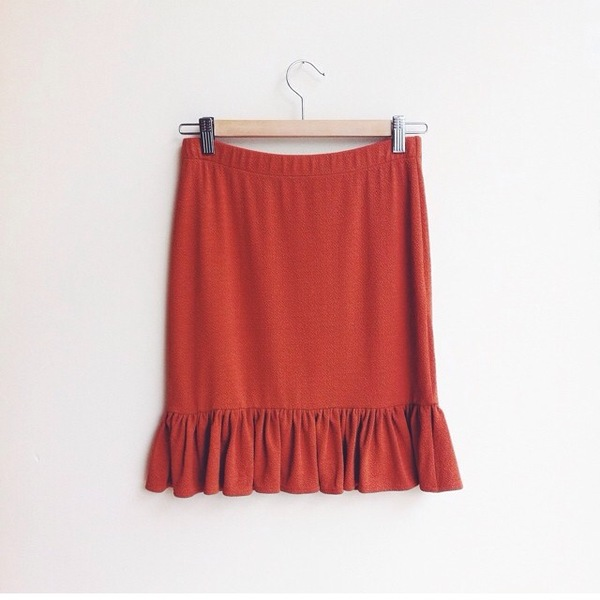 Ganni Miss Marple Skirt