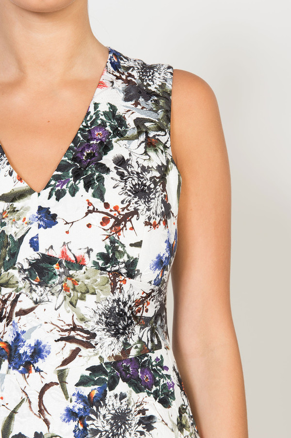 Rebecca Taylor Garden Matelasse Dress