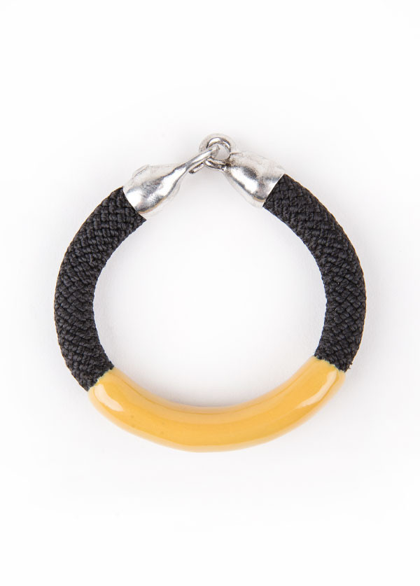 Orly Genger by Jaclyn Mayer Annabelle Bracelet (Yellow)