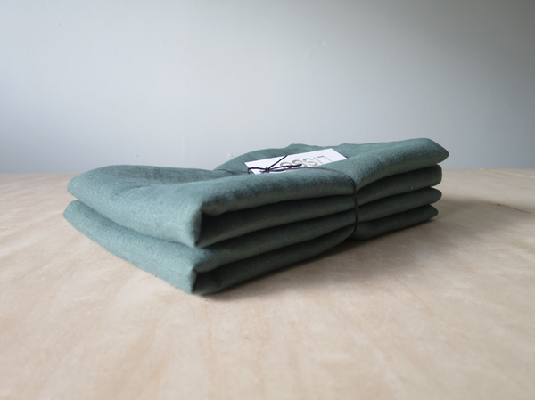 Lissu Linen Pillowcase Set - Forest Green