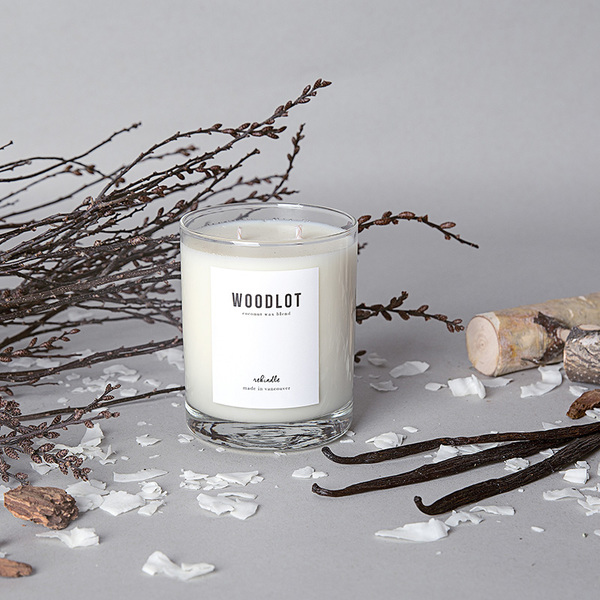 Woodlot Candle in Rekindle