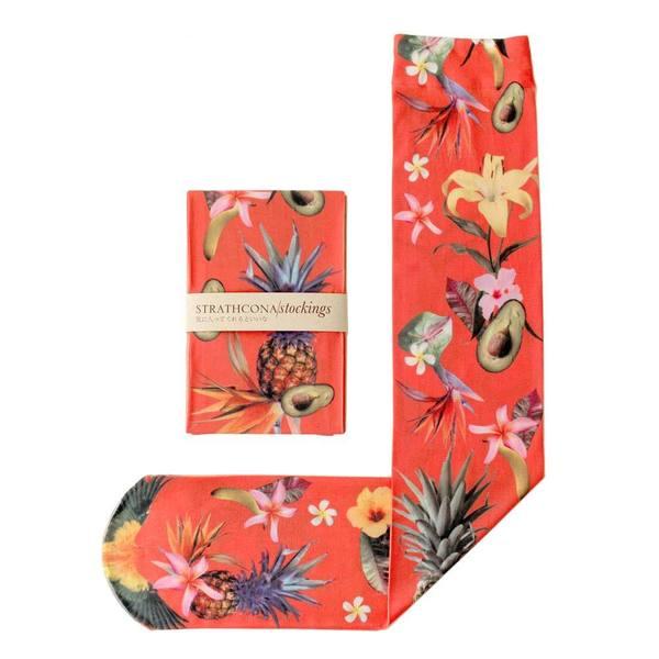 Strathcona Stockings Fruit Punch Socks