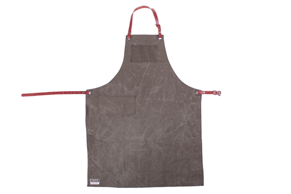 Union Wood Co. Shop Apron - Vintage Army Canvas