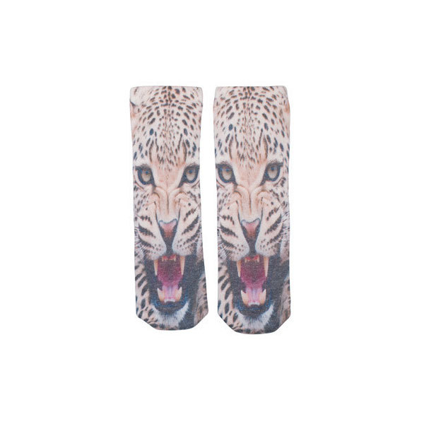 Kid's Popupshop Bear + Tiger Socks