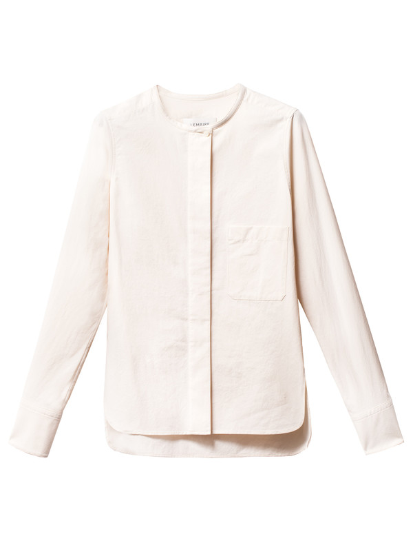 Lemaire Fitted Shirt Butter