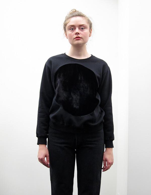 Correll Correll Velvet Circle Sweatshirt