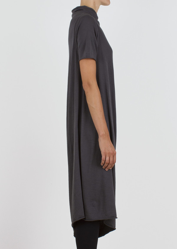 slope dress - slate