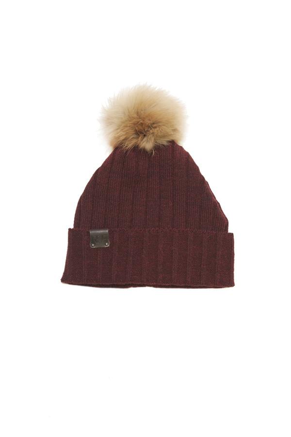 Rachel F. Phy Hat in Burgundy