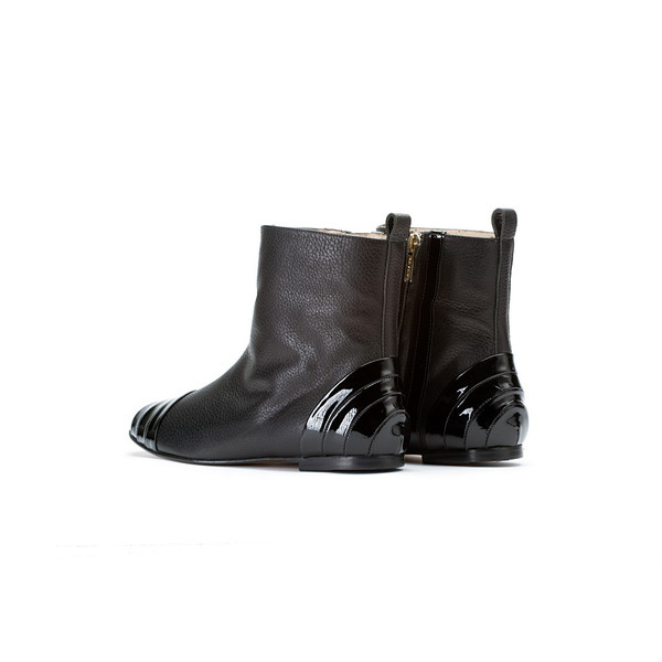 Bavaud Design Taira Flat Ankle Boot