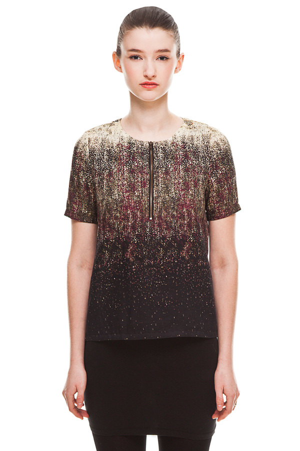 Valerie Dumaine Milo Top - Print