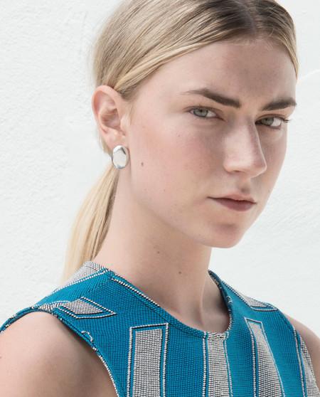 Minoux Cloudless Stud Earring