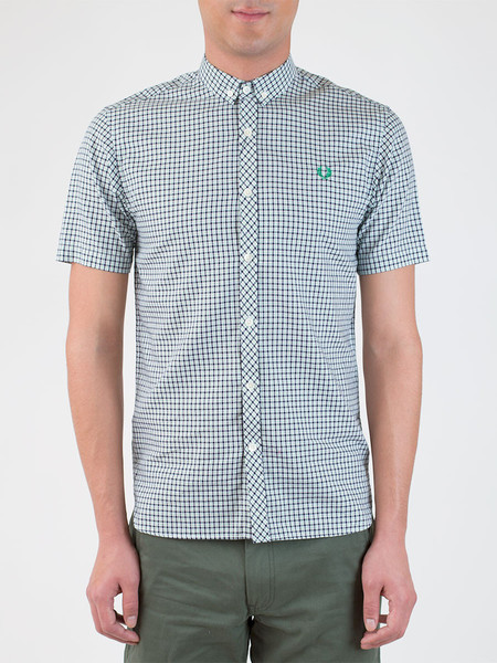 Men's Fred Perry Micro Check Shirt