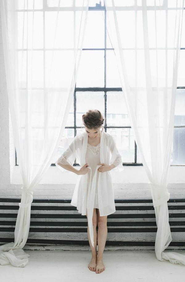 Salua Atelier My Vows Short Robe