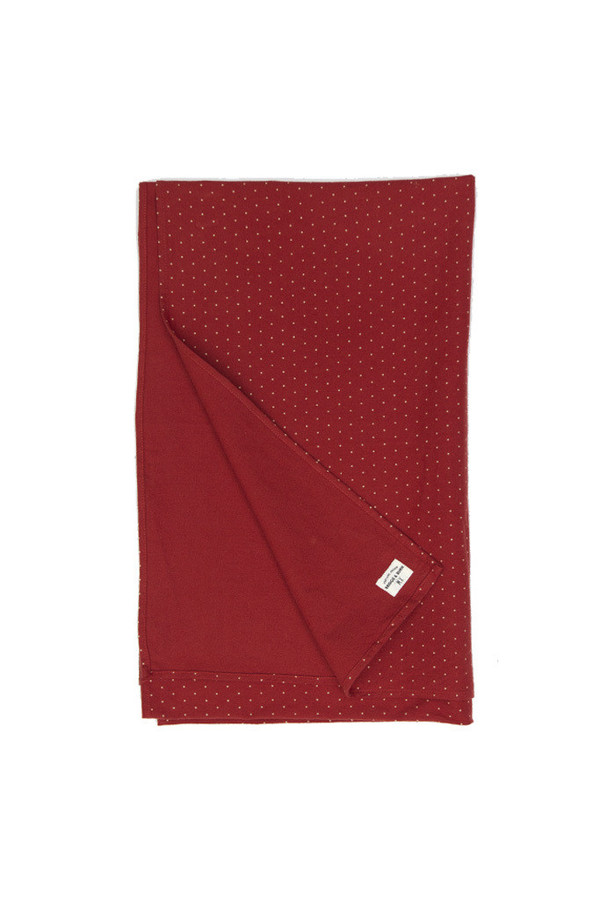 Bridge & Burn Cascade Burgundy Polka Dot Scarf
