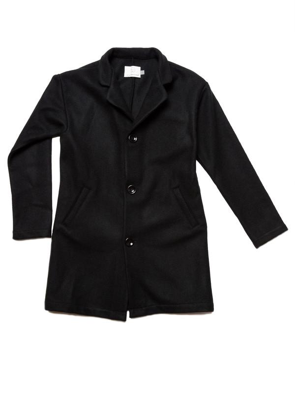Olderbrother Jouer Coat | Black