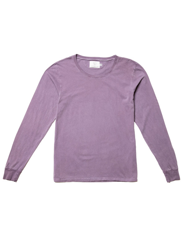 Olderbrother OB Long Sleeve Tee - Plum