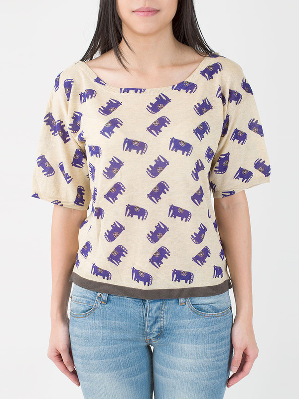 Hoss Intropia Elephant Shirt
