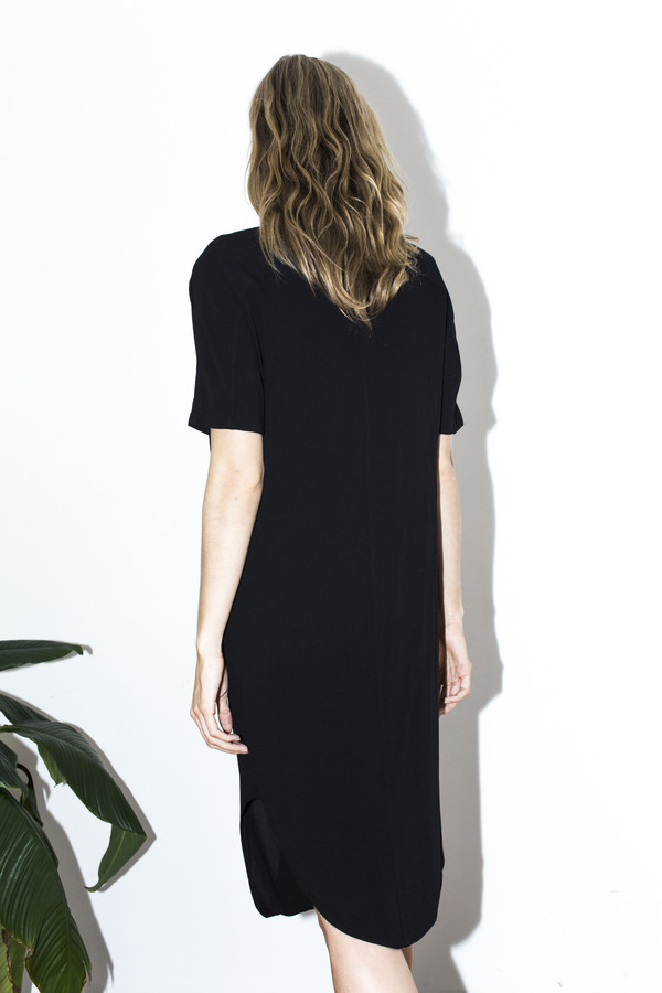 Assembly New York Black Twist Dress