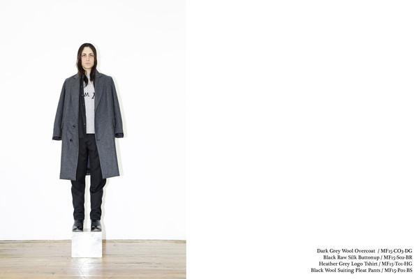 Men's Assembly New York Grey Overcoat