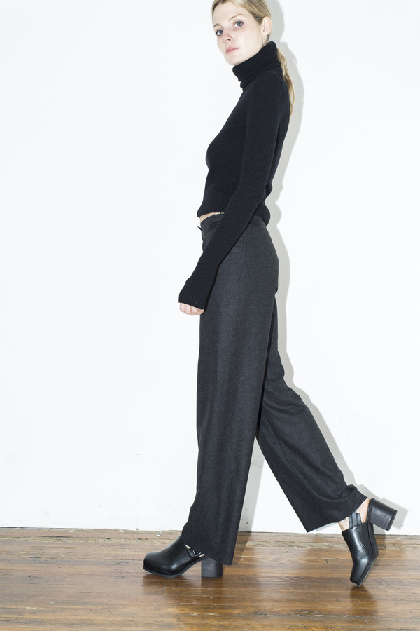 Assembly New York Grey Simple Pant