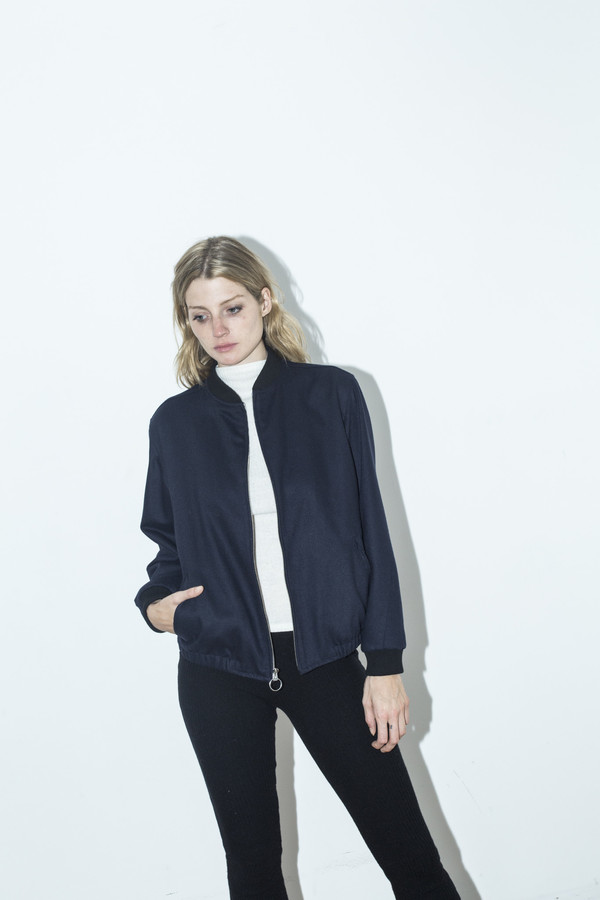 Assembly New York Navy Zip Bomber