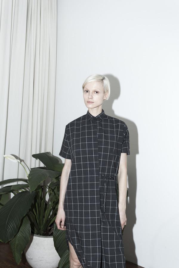 Assembly New York Plaid Twist Dress