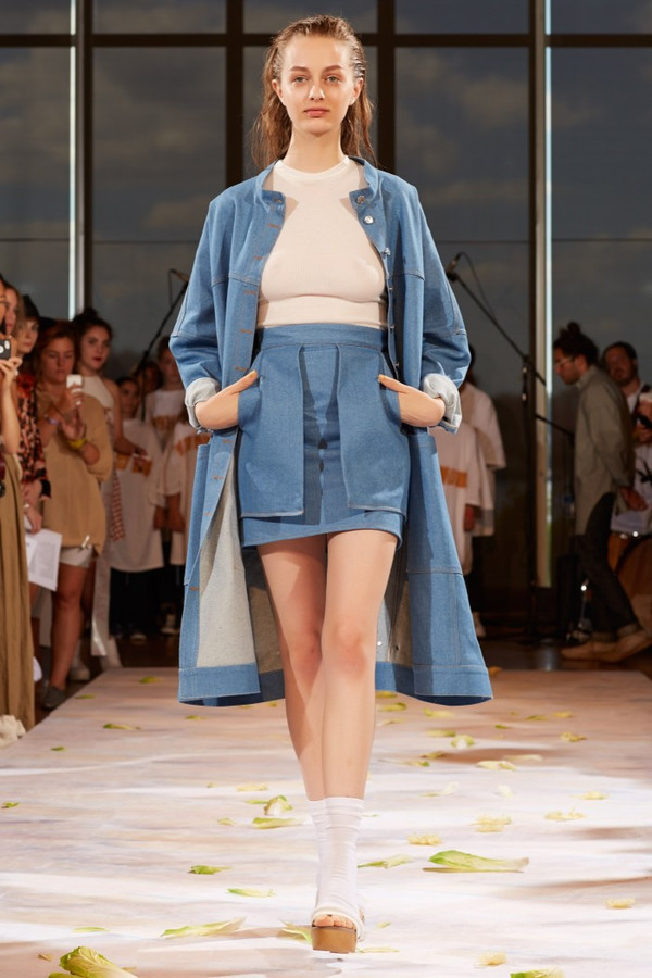 Eckhaus Latta Big Jean Jacket