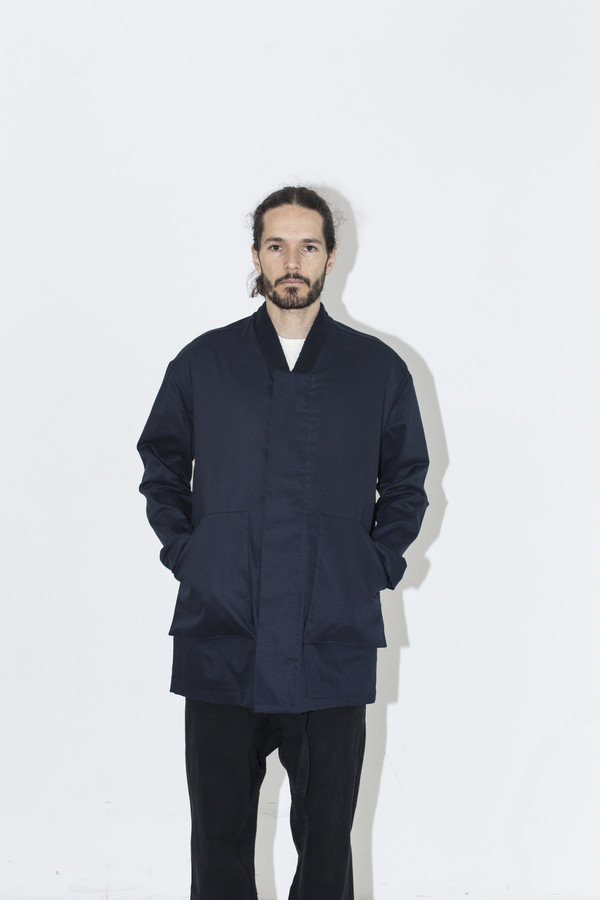 Men's Fanmail Navy Field Coat