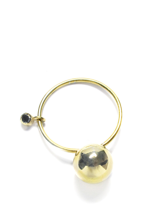 Sara Lasry Gold Ball Toy Ring