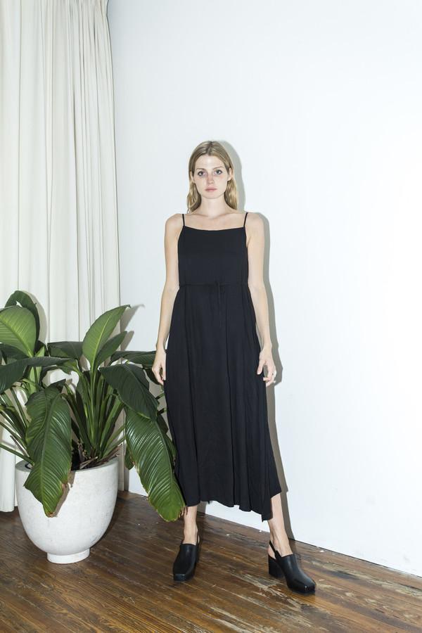 Shaina Mote Ink Wrap Side Apron Dress