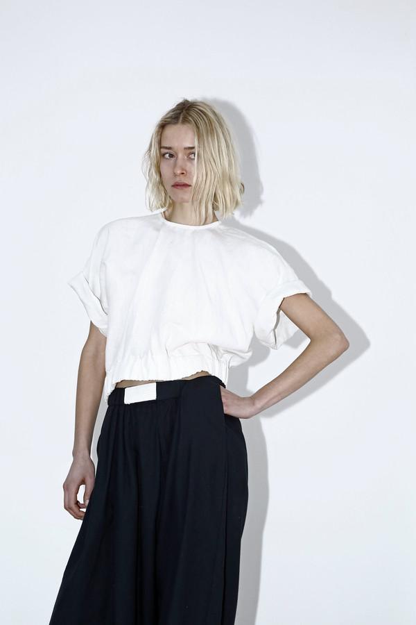 White Linen Box Top