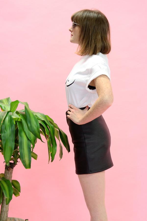 Eve Gravel Mont-Royal Skirt | Leatherette
