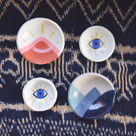 Pauline Wolstencroft Hand Made Plates