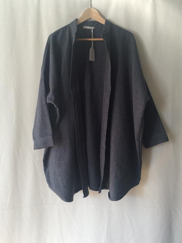 Black Crane Square Shirt