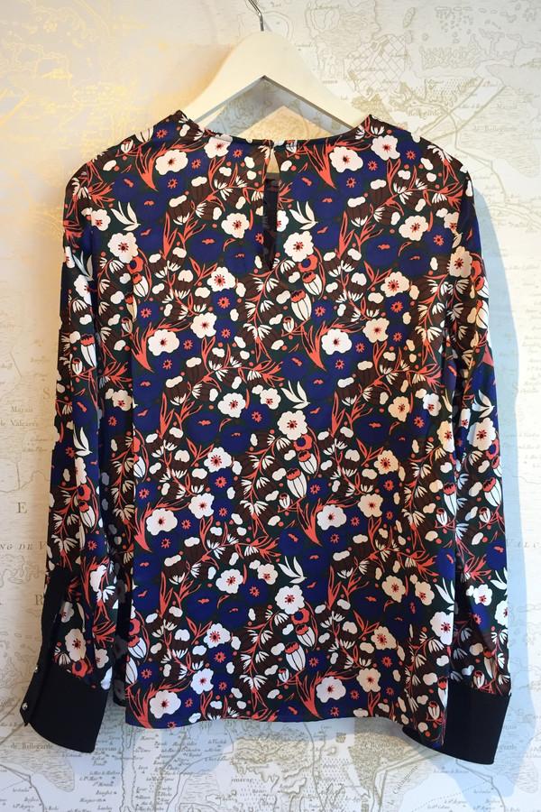 Derek Lam 10 Crosby Floral Printed Blouse