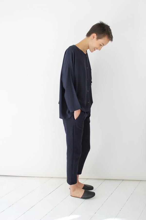 Atelier Delphine lyric pants | navy