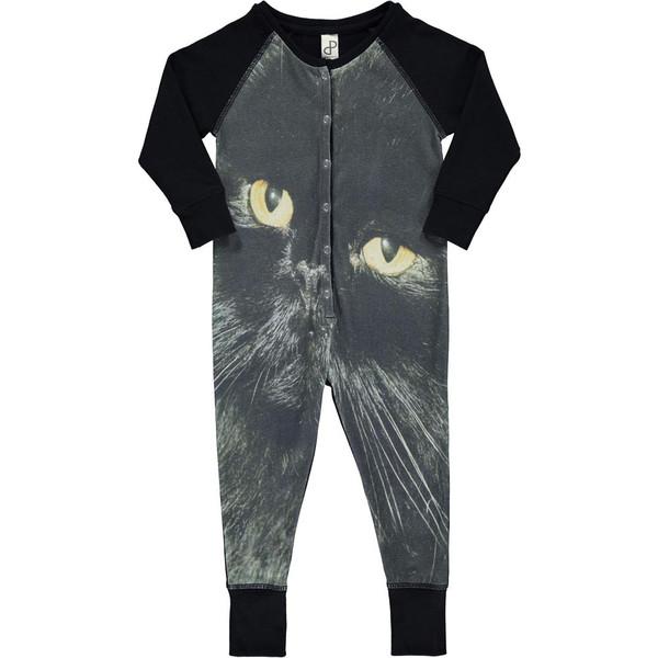 Popupshop Onepiece Suit - Black Cat
