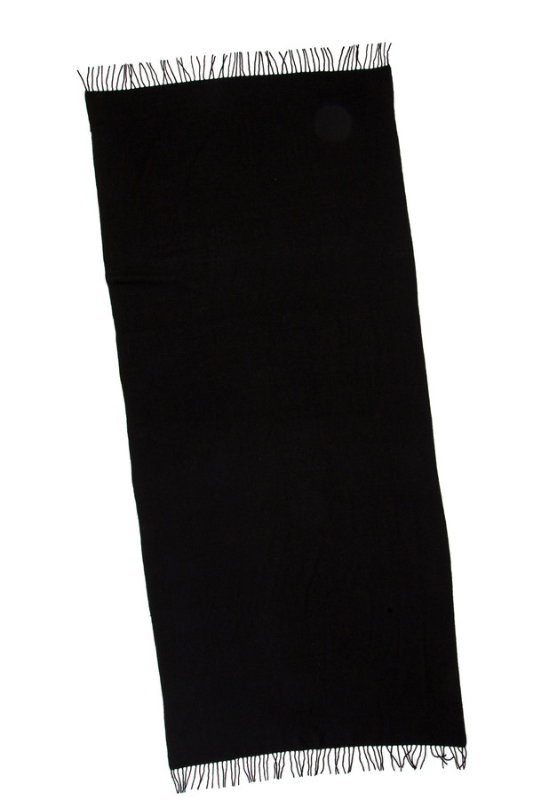 Men's Yarnz Black Wool Throw