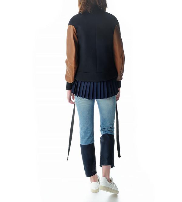 Tim Coppens Nappa Cashmere Varsity Jacket