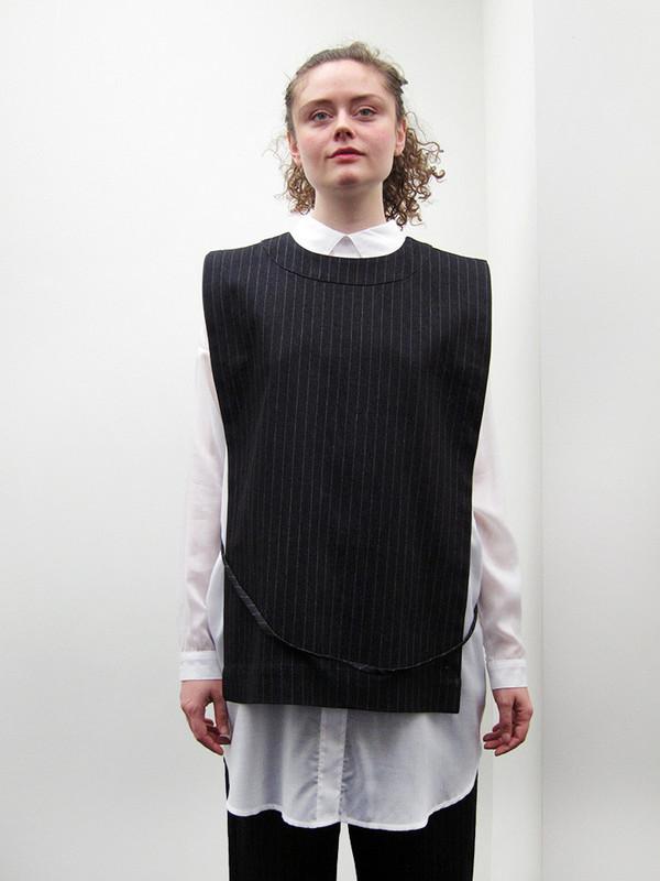 Rowena Sartin Apron Vest | Back Loop