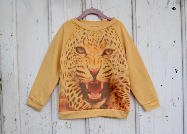 Kid's Popupshop: Cheetah Sweatshirt